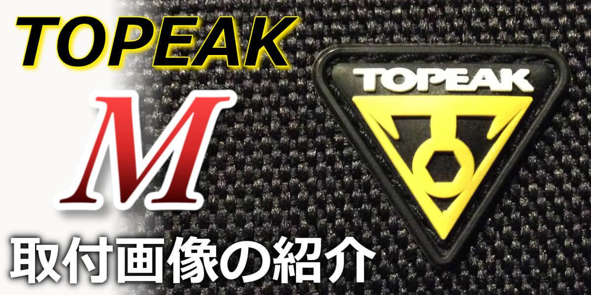 TOPEAK「Mサイズ」の取付画像