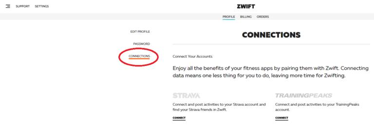 ZwiftデータをGarminと連携させる手順を説明するための画像2
