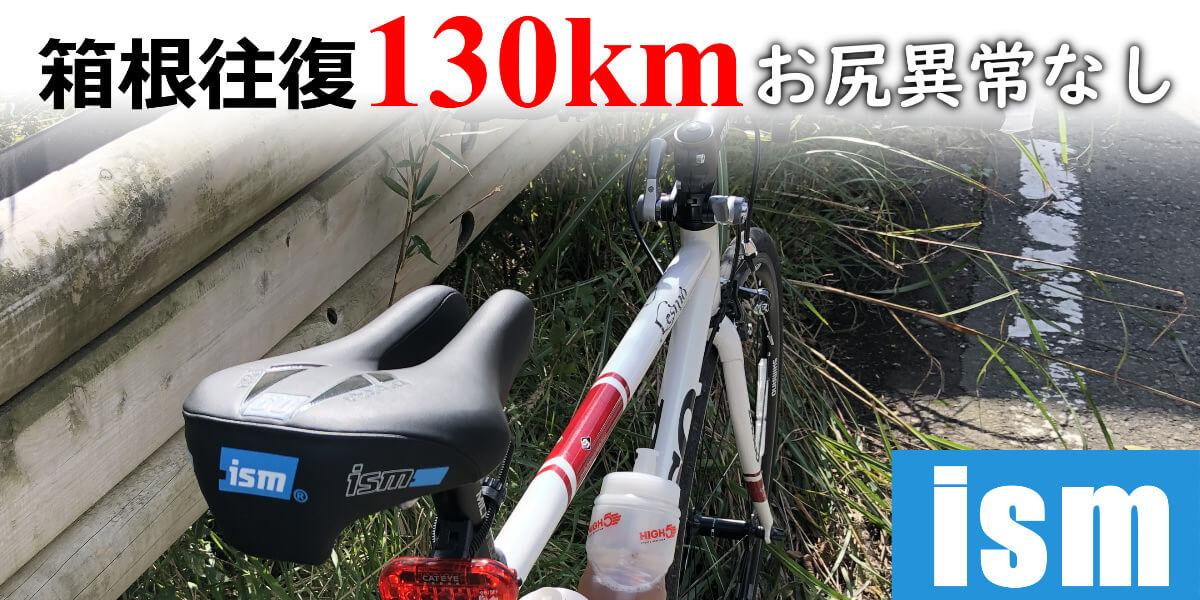 ismサドルを取り付けた自転車の画像