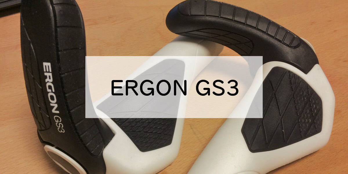 ERGON GS3のハンドルグリップ