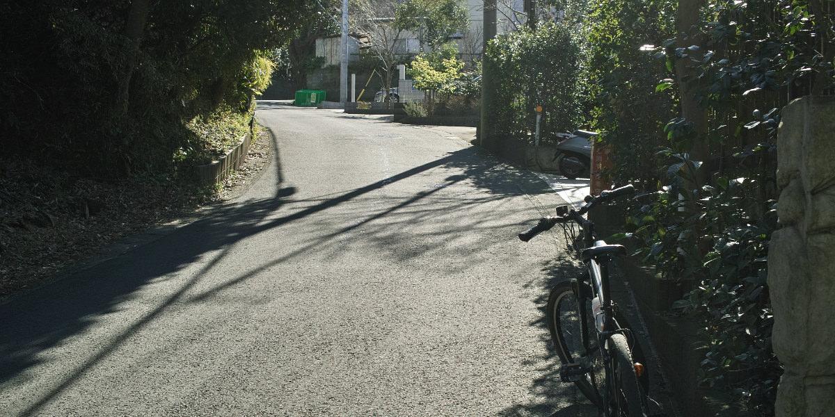 鎌倉山の激坂