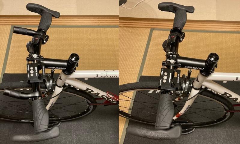ハンドルを交換する前後の状態を比較する画像