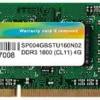 シリコンパワー ノートPC用メモリ DDR3 1600 PC3-12800 4GB×1枚204Pin Mac 対応 永久